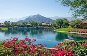 Palmilla Lake with Mountain View
